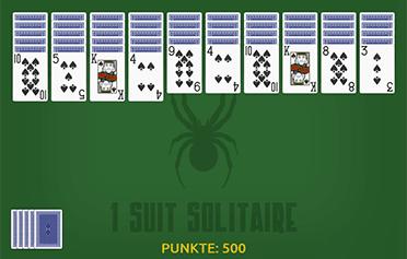 Spiele Spider Solitär